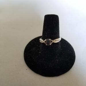 Sterling silver sapphire ring #14